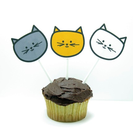 kittycatcupcaketopper