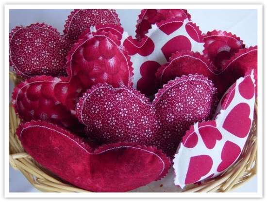 valentine, bowl, filler, mini pillow